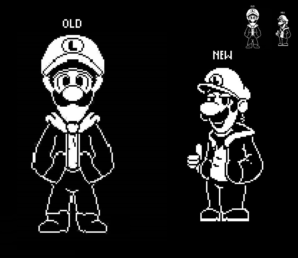 Remaking Old Stuff 1 Swaptoad Luigi By Ellistandarbros On