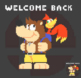 Welcome Back Banjo and Kazooie by EllistandarBros