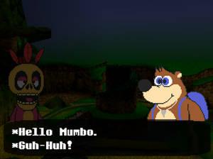 Banjo Kazooie but it's a RPG