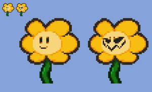 [Paper Mario] Flowey Sprite