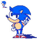 First time doing Sonic