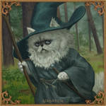 Purrndalf, meowr
