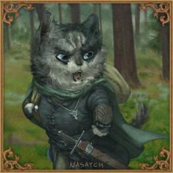 Meowragorn from meowmenor