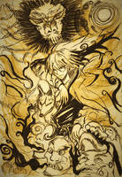 Nura Rikuo~The Demon Lord by MuArtGL