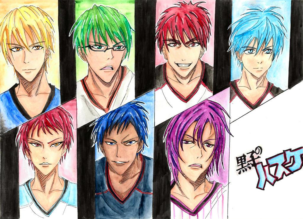 kuroko no basket by MuArtGL