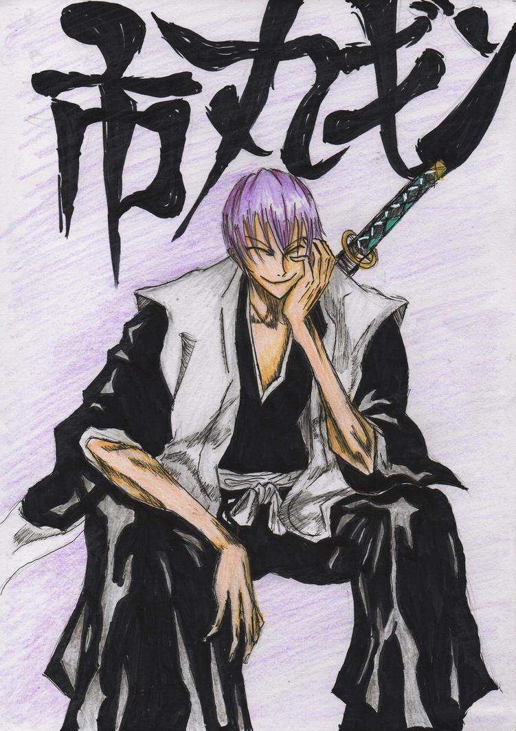 Bleach - Gin Ichimaru by MuArtGL