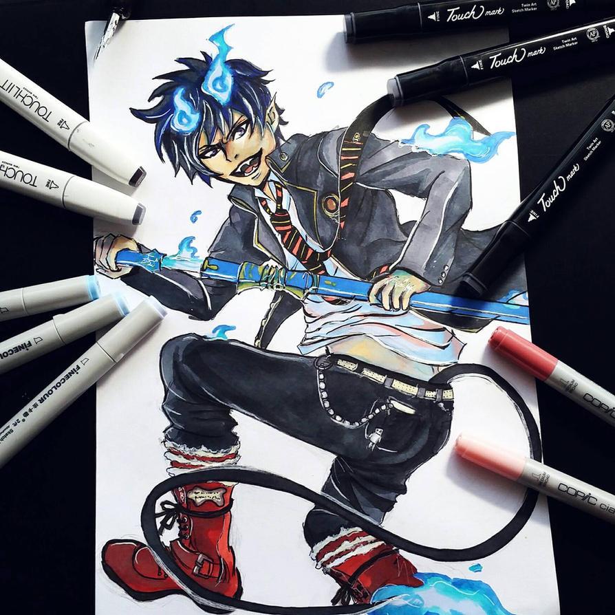 Rin Okuruma  by MuArtGL