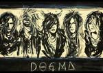 The GazettE Dogma Painting  by MuArtGL