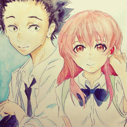 Koe no Katachi  by MuArtGL