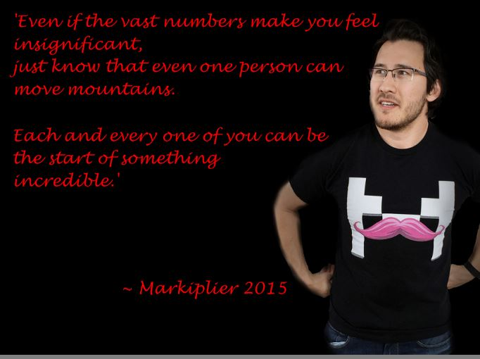 Markiplier Inspirational Quotes Quotesgram