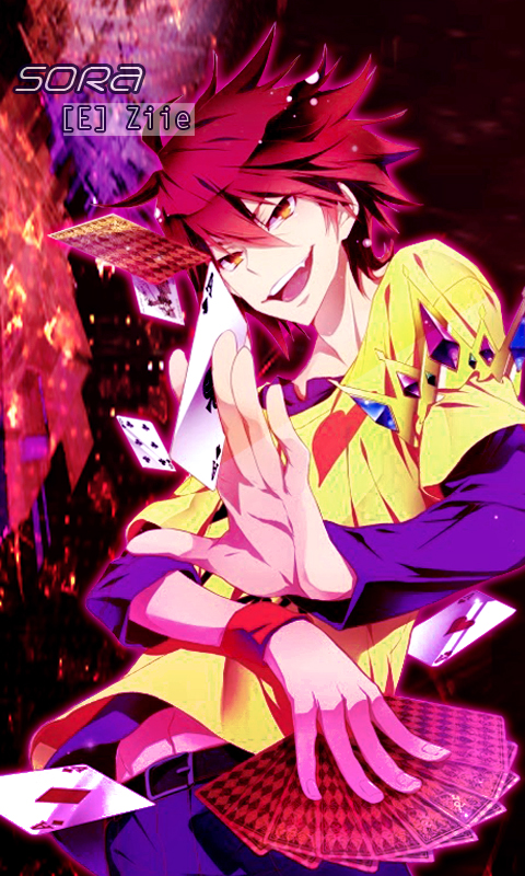 Sora No Game No Life Android Wallpaper By Andhii On Deviantart