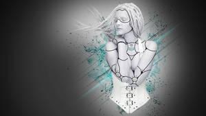 Female Cyborg RC01 by nomadOnWeb