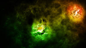 Cosmos Explosion by nomadOnWeb