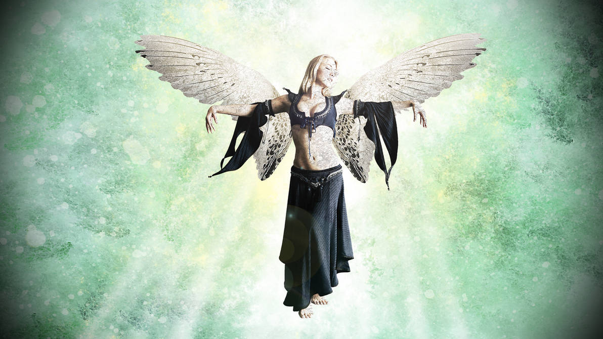 Birth of an Angel - Naissance d'un ange by nomadOnWeb