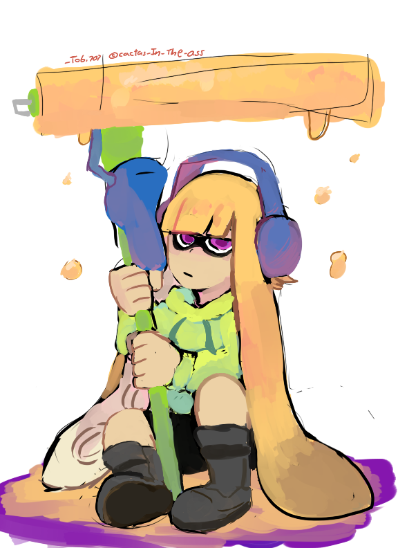 Inkling Color Practice by TOBI707
