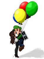 Life with Luigi, Floating Love by DarkLadyGrayson