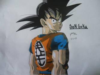 Dragonball Z - Son Goku by TriiGuN