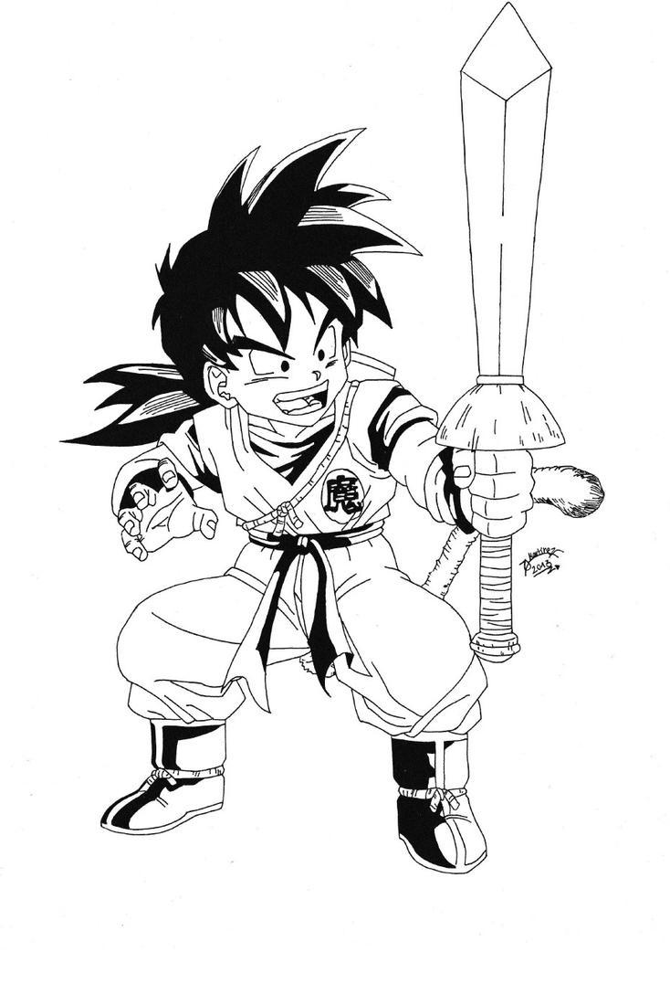 Dragonball Z Son Gohan Black