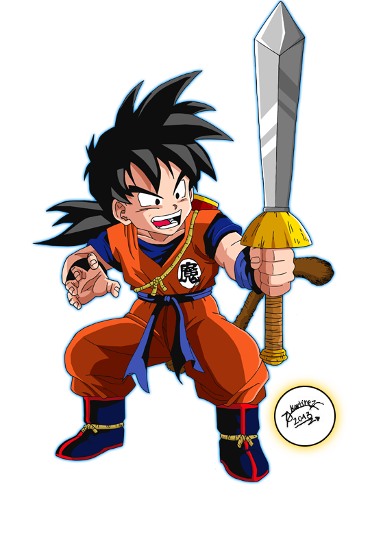 Son Gohan ID - by me and Sauron88 by TriiGuN on DeviantArt