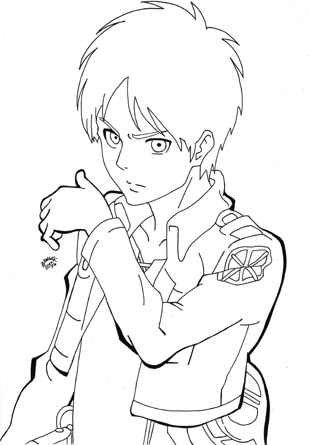 Shingeki No Kyojin Eren Jaeger