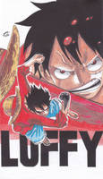 One piece - Monkey D. Luffy by TriiGuN