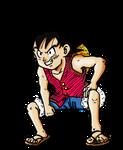 Dragonball Z - Son Goku Gear Second Colour! by TriiGuN