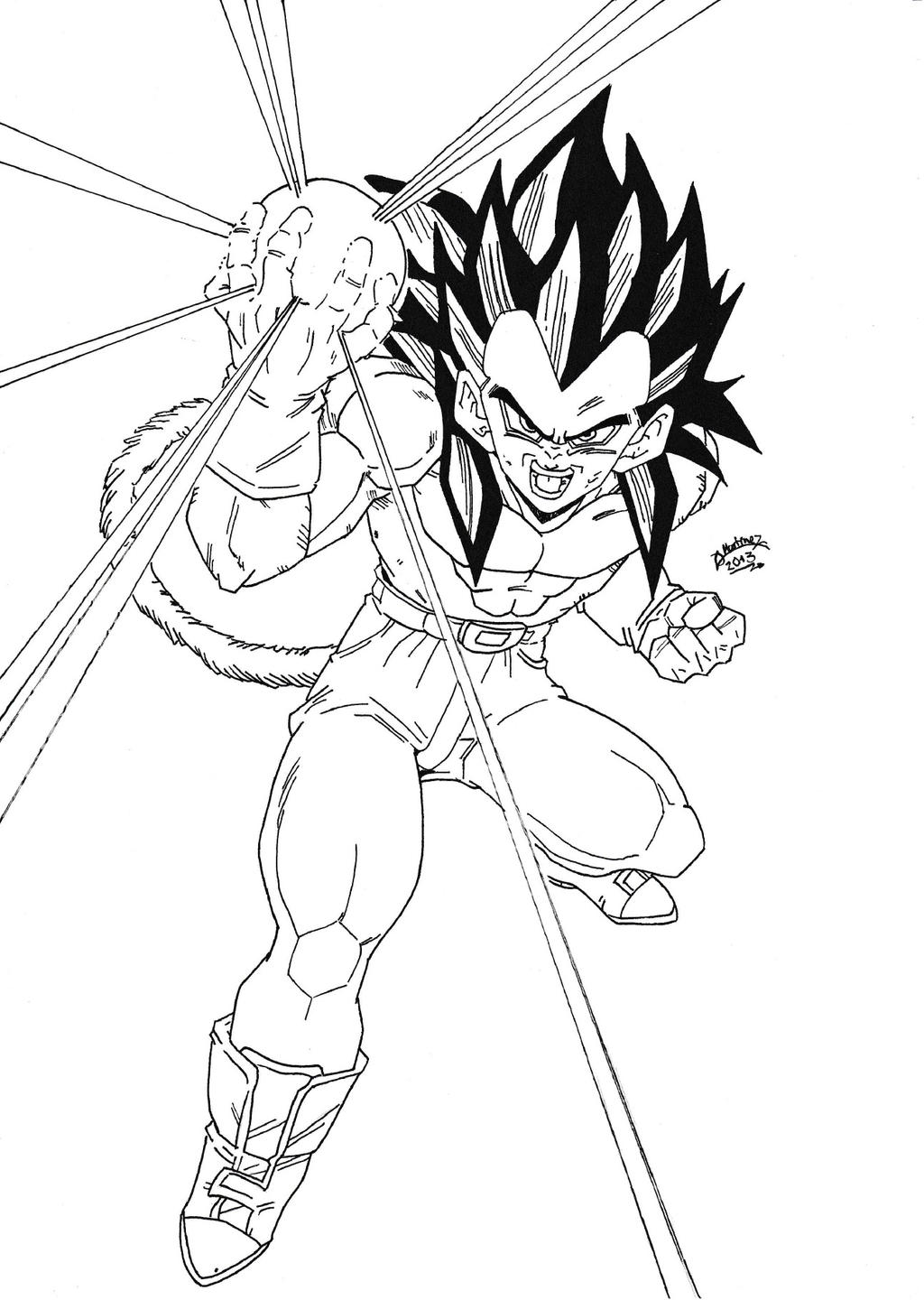 download video dbgt coloring pages - photo#47