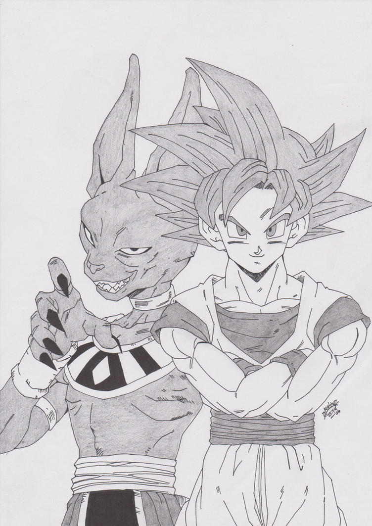 DRAGONBALL Z BATALLA DE LOS DIOSES GOKU VS BILLS by TriiGuN on