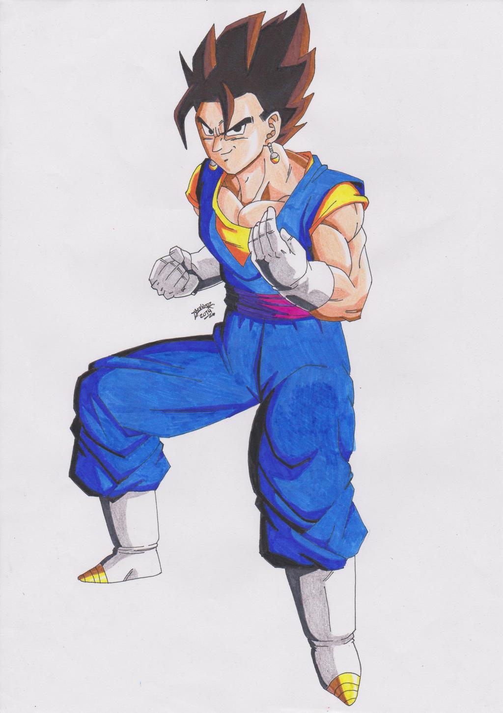 Dragon Ball Z Vegito N...