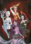 Ayakashi sisters - Black moon Clan