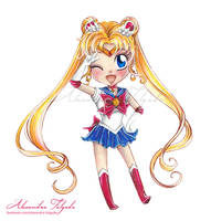 Chibi Sailor Moon by AlexaFV