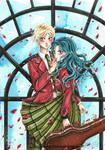 Haruka and Michiru - Sailor Moon