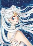 ACEO #08 - Sailor Moon, Cosmos