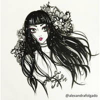 InkTober #1 by AlexaFV
