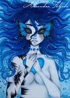 ACEO #25 - Adriena by AlexaFV