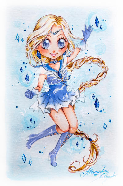 Chibi Sailor White Dragon