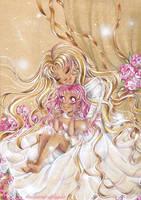 Sailormoon - Usagi and Chibiusa by AlexaFV