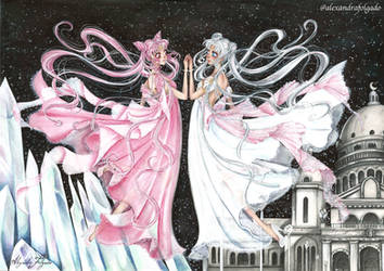 Sailormoon - Serenity and Lady Serenity