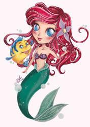 Chibi Ariel - mermaid