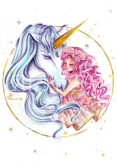 Chibiusa and Pegasus by AlexaFV