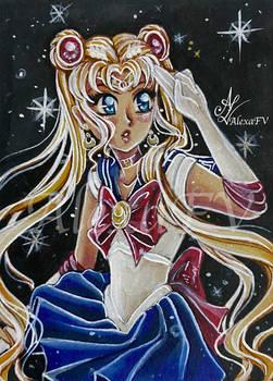 ACEO #56 SailorMoon