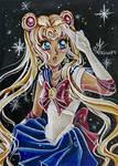 ACEO #56 SailorMoon by AlexaFV