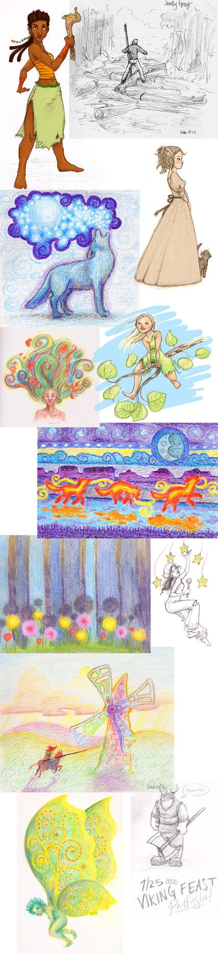 Philmont Sketchdump by Deisi