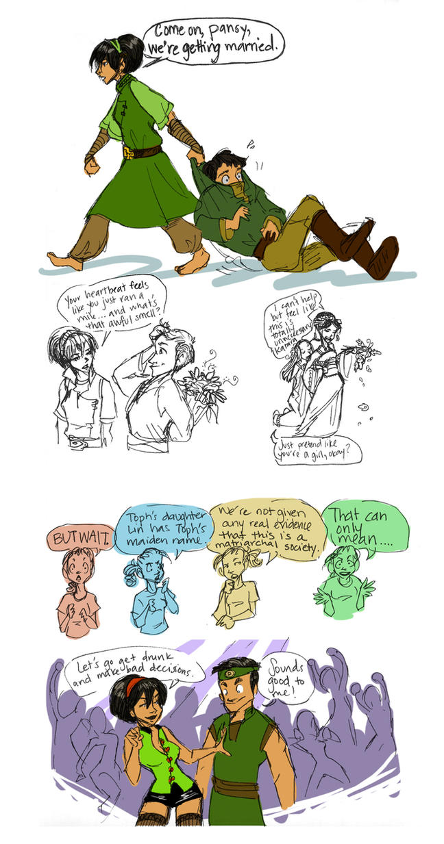 The Wooing of Toph by Deisi