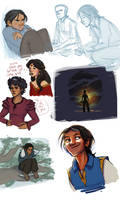 The Thief sketches by Deisi