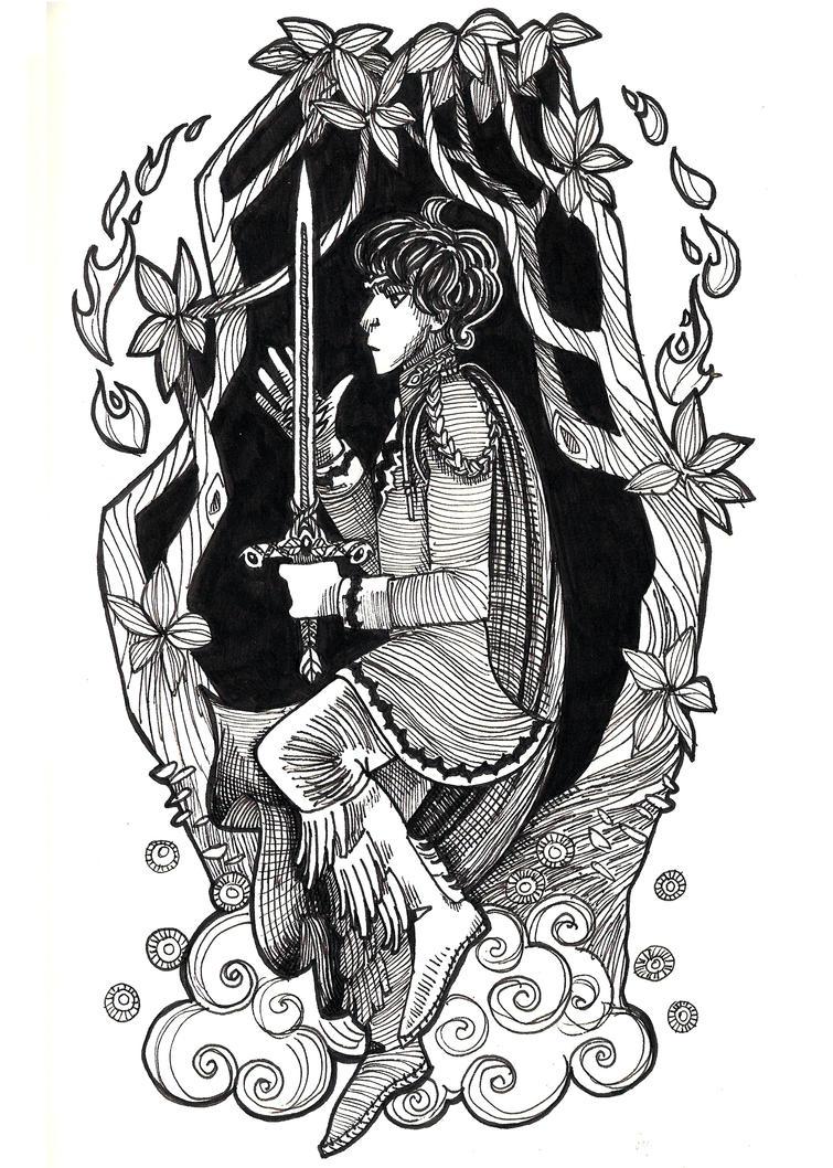 Valien in Ink by Deisi