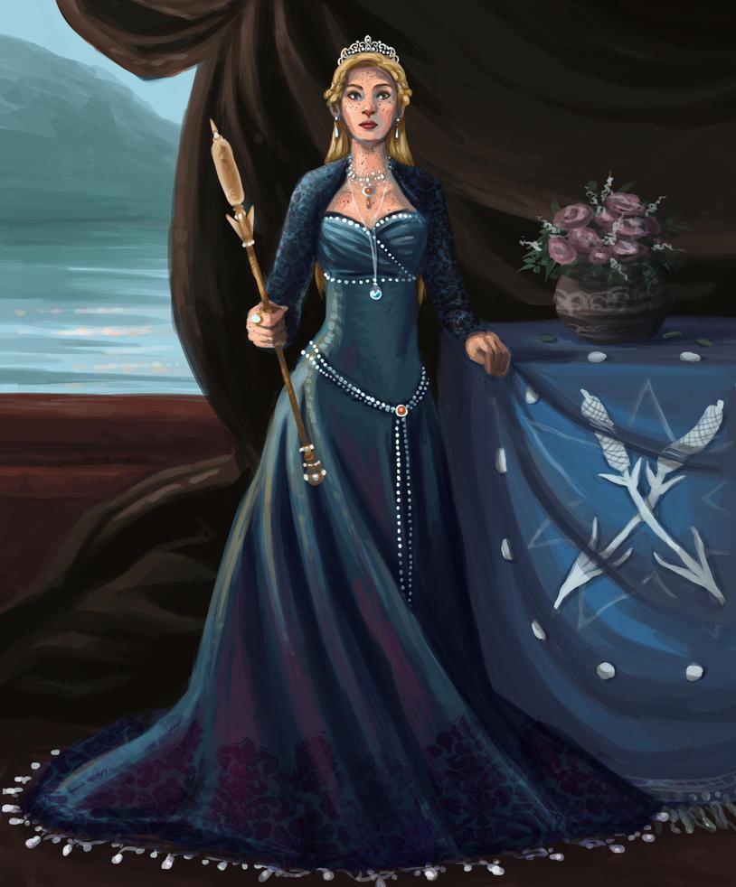 Queen of Lumen Lake by Deisi