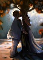 Under the Orange Trees by Deisi