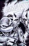 Daredevil Cover remake after Frank Miller