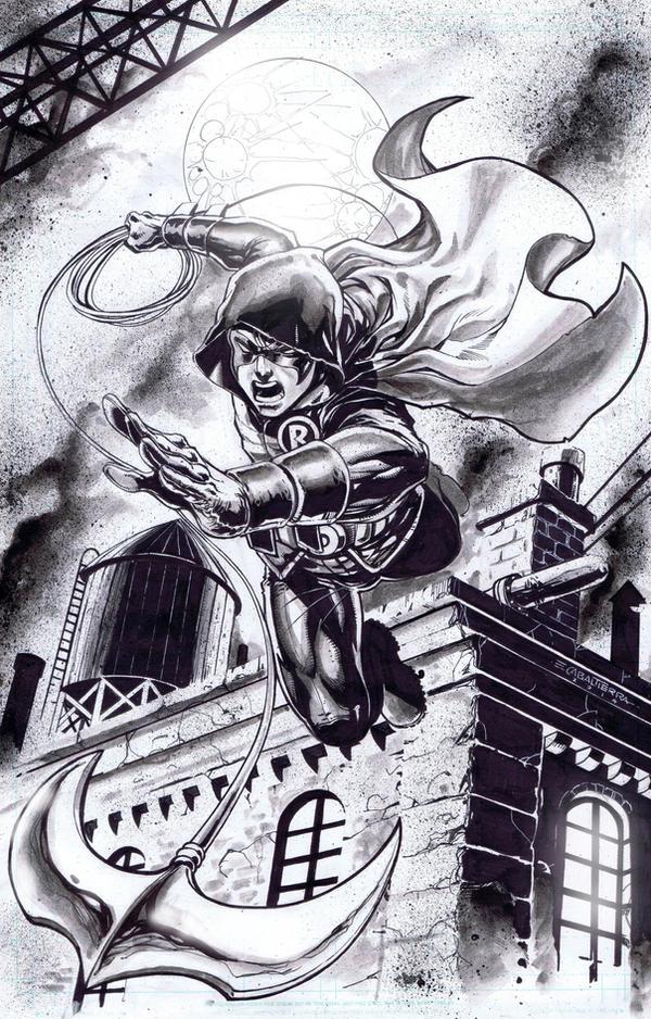 Robin Damian Wayne by emilcabaltierra